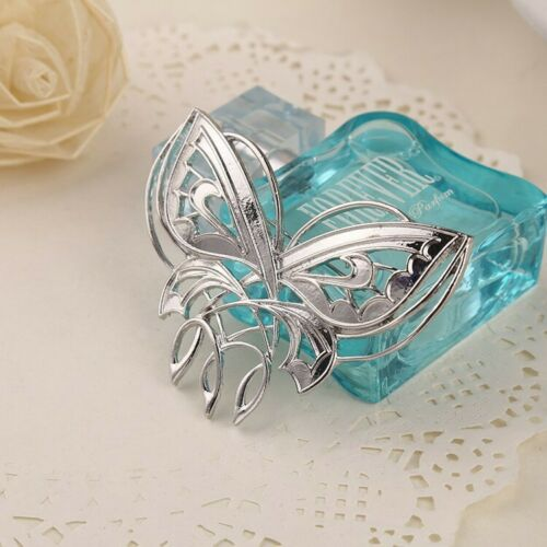 Lord Rings Arwen Butterfly Breast Pin Brooch Hobbit Silver