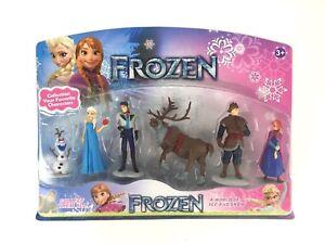 6-Pieces-Frozen-Anna-Elsa-Olaf-Figurine-Figure-Play-Set-Cake-Topper