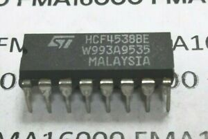 HCF4538be DIP16  ORIGINAL ST-THOMSON 4538-BE      HCF4538