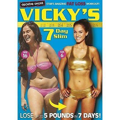 vicky geordie shore pierdere în greutate dvd