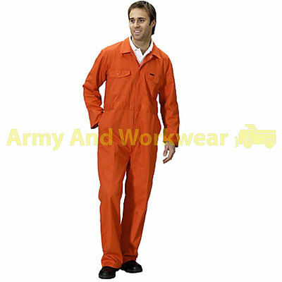 Adults New Coverall Overall Boiler Suit Workwear Mens Garage uniform Boilersuit Hohe Belastbarkeit