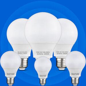 SALE-LED-E27-E14-GU10-Leuchtmittel-3W-5W-6W-7W-9W-12W-15W-Lampe-GluehBirnen-Birne