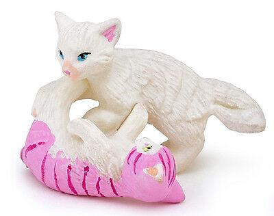 Papo 39088 Rough n Tumble Kittens Baby Cats Figurine Toy Replica 2014 NIP