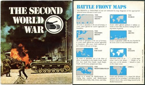 The Second World War Edito-Services 1977 Booklet