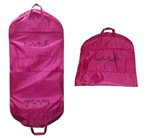 NEW-PINK-STRONG-SUIT-CARRIER-DRESS-COVER-BAG-TRAVEL-HANDLES-WATERPROOF-137cm