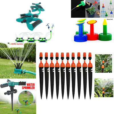 360° Lawn Sprinkler Automatic Garden Plant Watering Irrigation System New GW