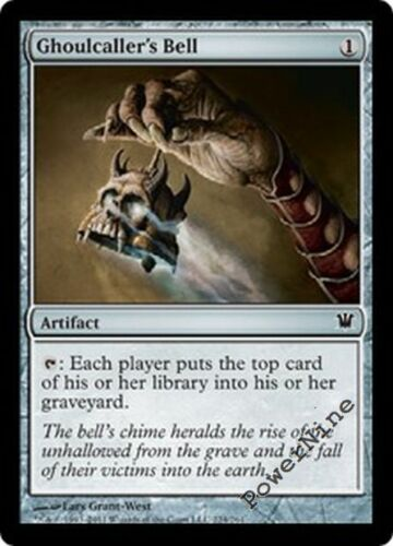 1 FOIL Ghoulcaller's Bell - Artifact Innistrad Mtg Magic Common 1x x1
