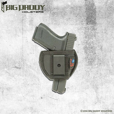 INSIDE THE PANTS HOLSTER FITS TAURUS PT-22 POLY BY ACE CASE 100/% MADE IN USA
