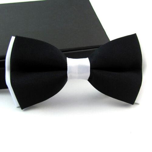 Men Fashion Bow Tie Adjustable Novelty Tuxedo Wedding Party Bowtie Necktie