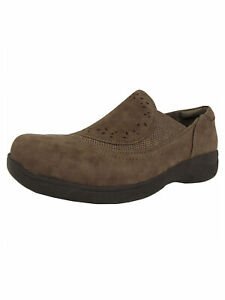 140-Aravon-Womens-REVsolace-Slip-On-Loafer-Shoes-Stone-US-8-Extra-Wide