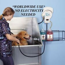 Pet Dog Grooming Groomer Shampoo Bath DELUXE BATHING MIXING SYSTEM&Sprayer&Hose