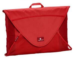 Eagle Creek Pack-it Garment Folder Large Housse à Vêtements Vêtements Sac Rouge Nouveau-afficher Le Titre D'origine