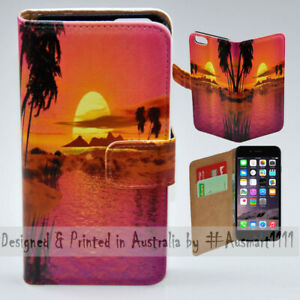 For-Apple-iPhone-Series-Summer-Sunset-Theme-Print-Mobile-Phone-Case-Cover