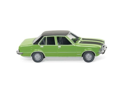 mit schwarzem Dach 1:87 grün met H0 Wiking 79603 Opel Commodore B