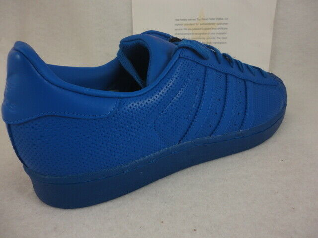 Adidas Superstar Adicolor, bluee   bluee, Shell Toe Leather, S80327, Size 11.5