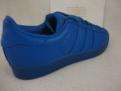 huge discount 18884 f2a23 Adidas Superstar Adicolor, Blue / Blue, Shell Toe Leather, S80327, Size 13  889138608957 | eBay