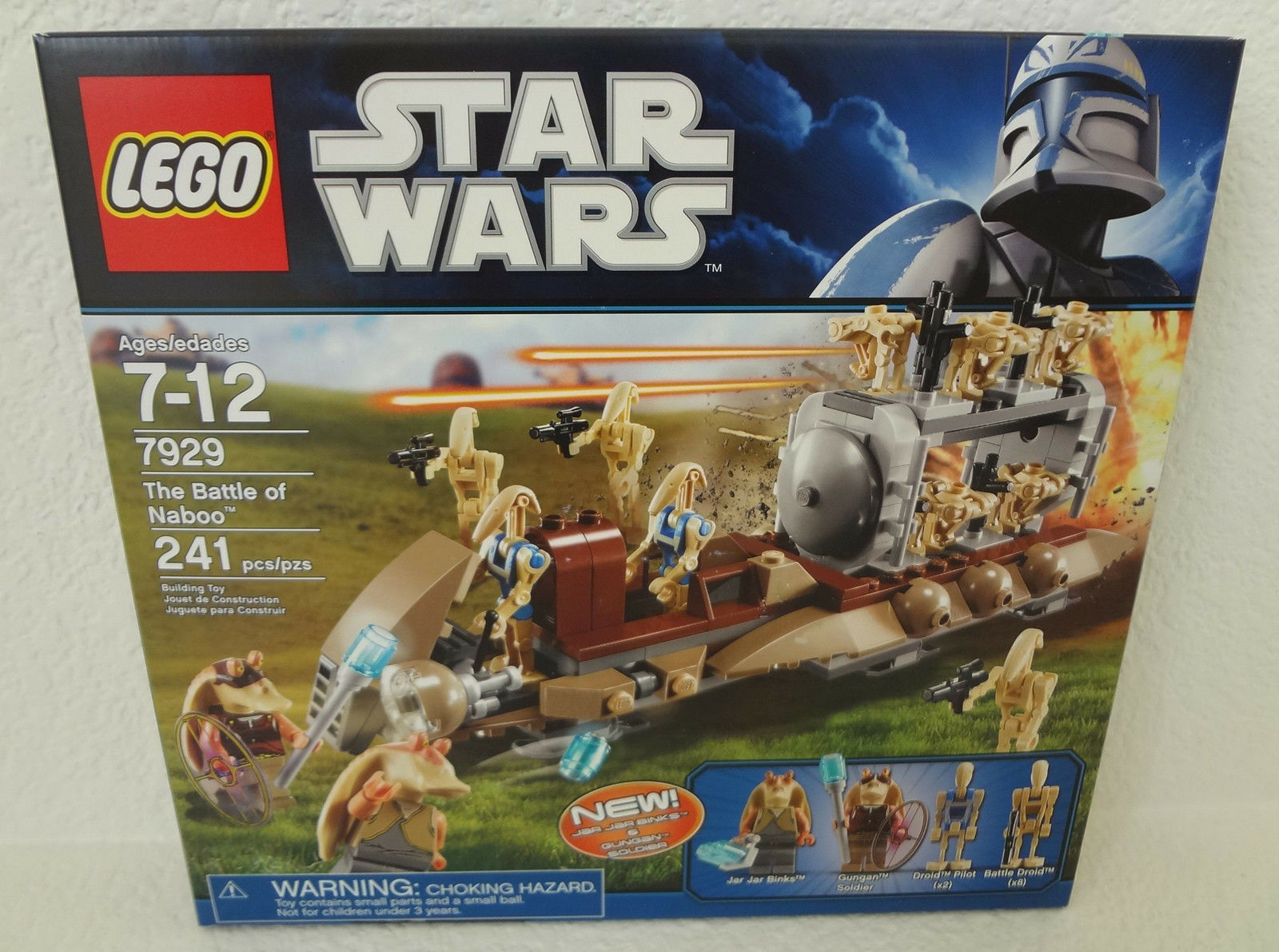 Lego Star Star Star Wars 7929 The Battle of Naboo New Sealed 4f0dc5