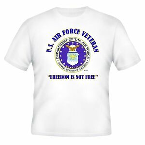 U.S.AIR FORCE FREEDOM & OPERATION IRAQI FREEDOM VETERAN CAMPAIGN 2-SIDED SHIRT
