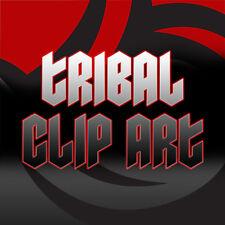 TRIBAL VECTOR CLIP ART FOR VINYL SIGN CUTTER