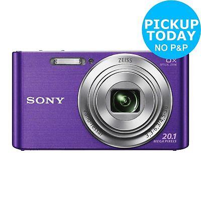 Sony Cybershot W830 2.7 Inch 20MP 8x Zoom Compact Digital Camera Purple
