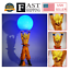 14/'/' Anime Dragon Ball Z Super Saiyan SON GOKU Genki Spirit//Bomb Figure/&DIY Lamp