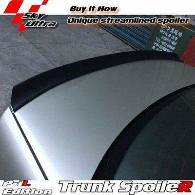 Flat Black 284 PIL Rear Trunk Spoiler Wing For Honda Civic 7 US 2001-2005 Sedan