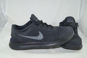Nike Free RN Sportschuhe 42,5 42 US 9 UK 8 Schwarz