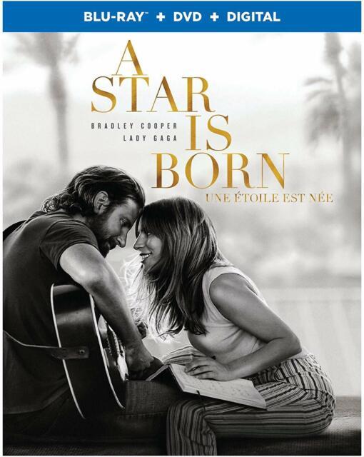A Star Is Born (Bilingual) - Blu-ray + DVD (2019)