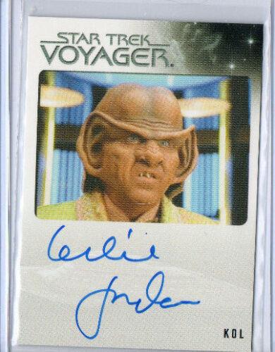 Star Trek Voyager Autograph /& Costume Card Selection NM  Rittenhouse Aliens