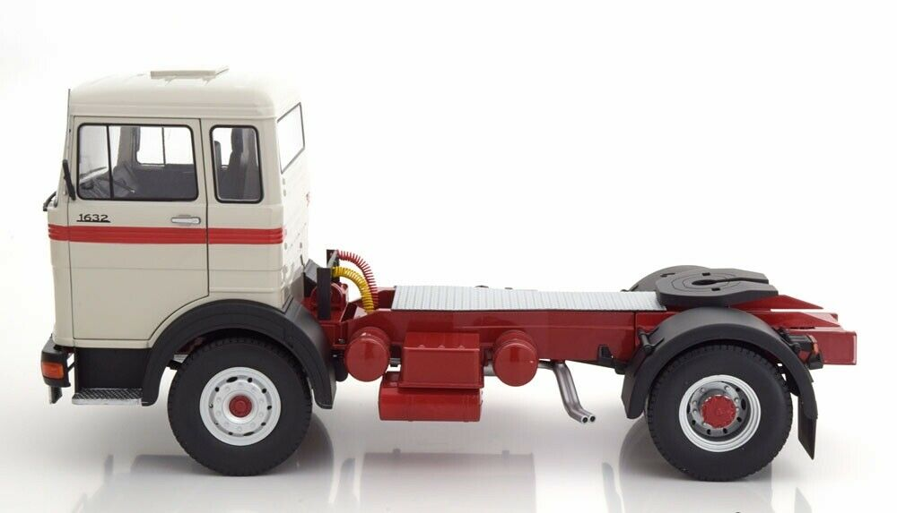 MercedesBenz Lps 1632 Autoautoro Camion Trattore Grigio Diecast 1 18 strada res