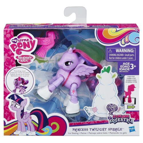 patin à glace//applaudissement//couture Mon petit poney explorer equestria action pony