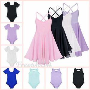 395799c2f Lovely Kids Girls Gymnastics Ballet Dress Leotard Tutu Skirt Dance ...