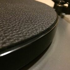 Premium Swiss Leather Turntable Mat | Rega Pro-Ject Thorens Slipmat Made in USA