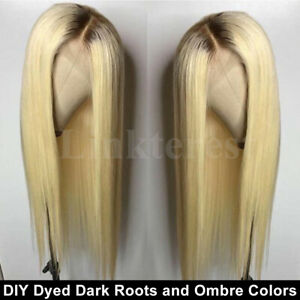 Best-Bleached-Blonde-Full-Wig-European-Human-Hair-Lace-Front-Wig-Straight-Wavy-P