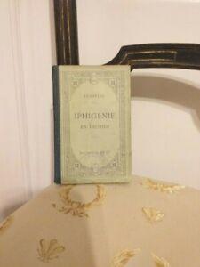 Euripide-Iphigenie-En-Tauride-Hachette-1916-TBE