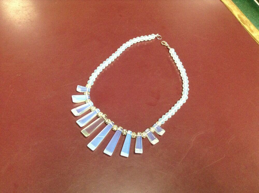 Rhinestone Ball Super  Opalite Faceted Beads