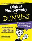 Digital Photography for Dummies by Julie Adair King (Paperback, 2002)
