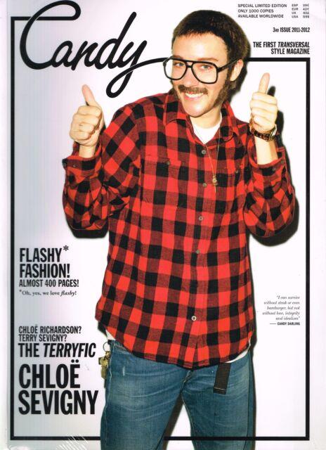 CANDY Transversal Magazine #3 Chloe Sevigny TERRY RICHARDSON Andrej Pejic NEW