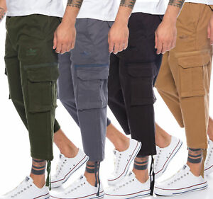 finchman-fm122e-Men-039-s-Cargo-Shorts-Casual-Trousers-Bermuda-Capri-3-4-Trousers