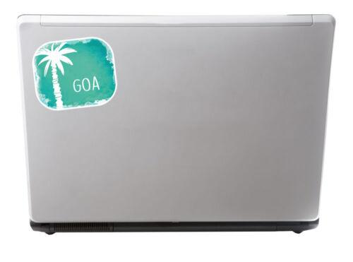 2 X 10 Cm Goa India pegatina de vinilo Laptop viaje Equipaje Etiqueta Regalo # 6486