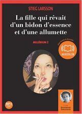 Milenio 2 - Stieg Larsson Libro audio (nuevo)
