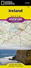 National Geographic Adventure Map: Ireland 3303 by National Geographic Maps Staff (2016, Map, Other)