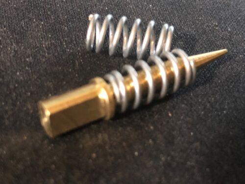 Quadrajet air Idle mixture screws Late metric NEW. pair with springs
