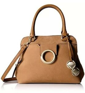 Image Is Loading Calvin Klein Reese Top Handle Satchel Purse Handbag