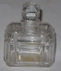 Baccarat Style Helpful Vintage Caron Bellodgia Perfume Bottle Open/empty We Have Won Praise From Customers 0.633 Oz