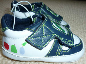 NEW-The-Very-Hungry-Caterpillar-Licensed-Baby-Boys-Pre-Walker-Shoes-Size-2