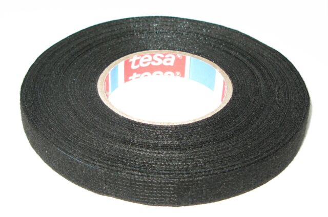 Tesa Car Fabric Tape with Fleece 51608 9mm x 15m Tape Band Vat New