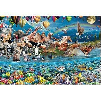 Beverly Jigsaw Puzzle 31-363 Fantasy Art Greatest Life - Animal - (1000 Pieces)