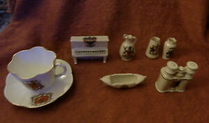 Crested-China-7pieces-Shelley-Wileman-Carlton-ware