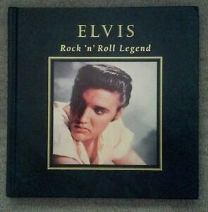 Elvis-Presley-Rock-039-n-039-Roll-Legend-Hard-Cover-Book-Mint-Condition-Never-Used